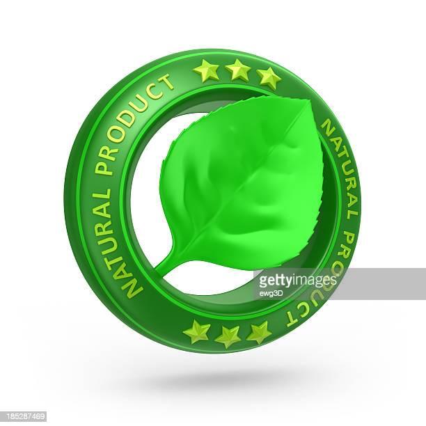 Natürliches Produkt-Runde Symbol