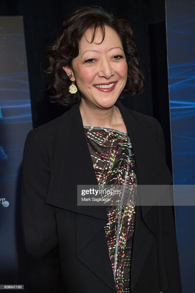 Natural Resources Defense Council President Rhea Suh attends the 'Sonic Sea' New York screening at the Crosby Hotel on May 4, 2016 in New York City.