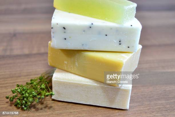 Natural soaps of herbs