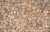 Gray and brown stone surface background texture