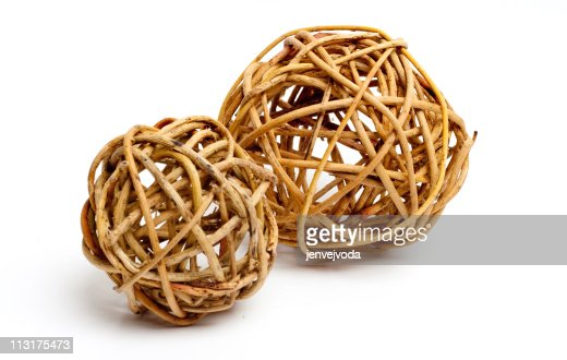 Wooden Decorative Balls Beauteous Natural Wooden Decorative Balls Stock Photo  Thinkstock 2018