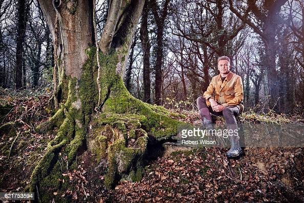 Naturalist nature photographer television presenter and author Chris Packham is photographed for The Times on April 4 2016 in Lyndhurst England
