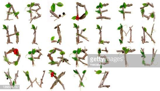Alfabeto de natureza