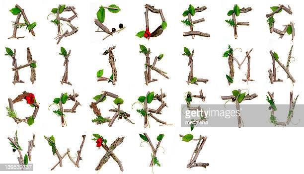 Natur Alphabet