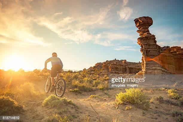 nature man adventure exercise landscape new mexico