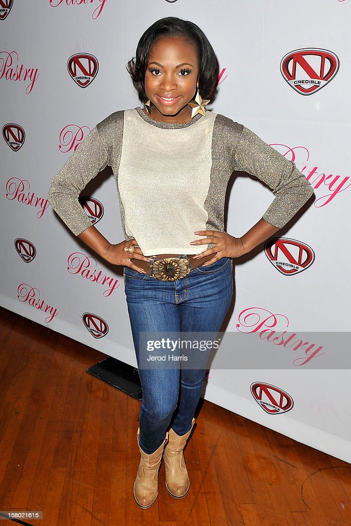 Naturi Naughton arrives at Pastry Shoes 'Skate & Donate' benefitting Toys For Tots on December 8, 2012 in Glendale, California.