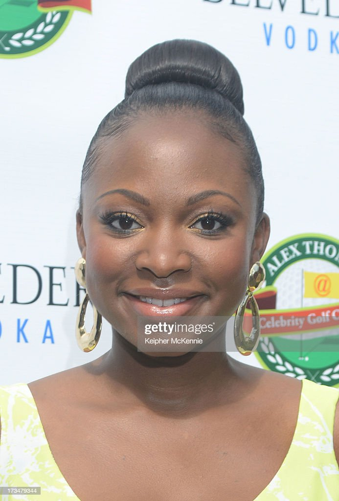 Naturi Naughton arrives to the 4th Annual Alex Thomas Celebrity Golf Weekend Pool Party hosted by NFL's Jacoby Jones of the Baltimore Ravens at Hollywood Roosevelt Hotel on July 14, 2013 in Hollywood, California.