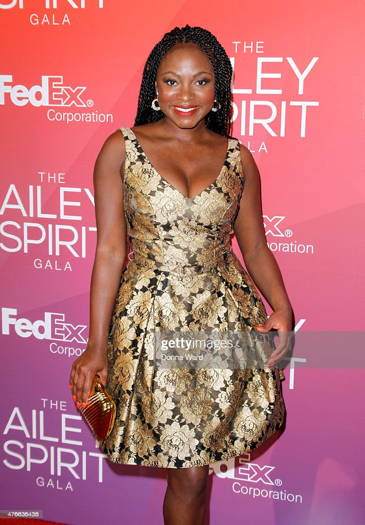 Naturi Naughton attends the 2015 Ailey Spirit Gala at David H Koch Theater Lincoln Center on June 10 2015 in New York City