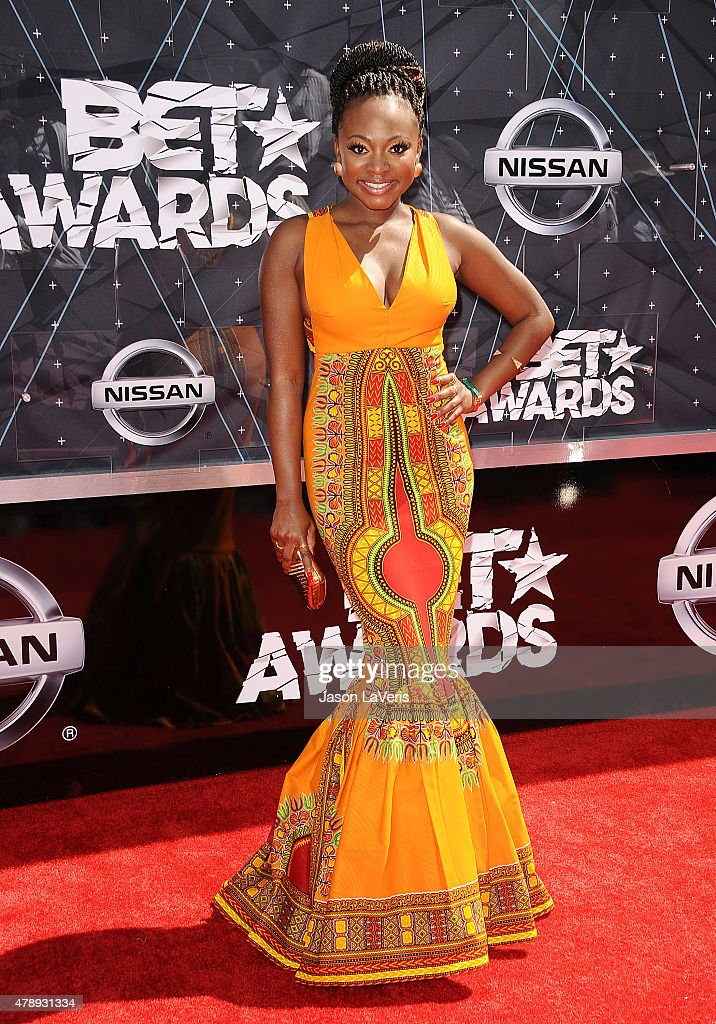 Naturi Naughton attends the 2015 BET Awards at the Microsoft Theater on June 28 2015 in Los Angeles California
