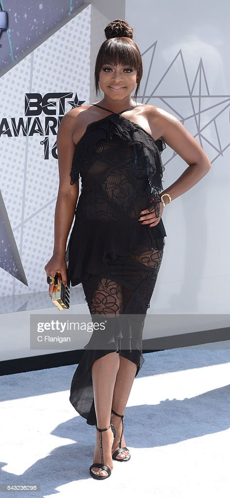 <a gi-track='captionPersonalityLinkClicked' href=/galleries/search?phrase=Naturi+Naughton&family=editorial&specificpeople=2559512 ng-click='$event.stopPropagation()'>Naturi Naughton</a> attends the 2016 BET Awards at Microsoft Theater on June 26, 2016 in Los Angeles, California.