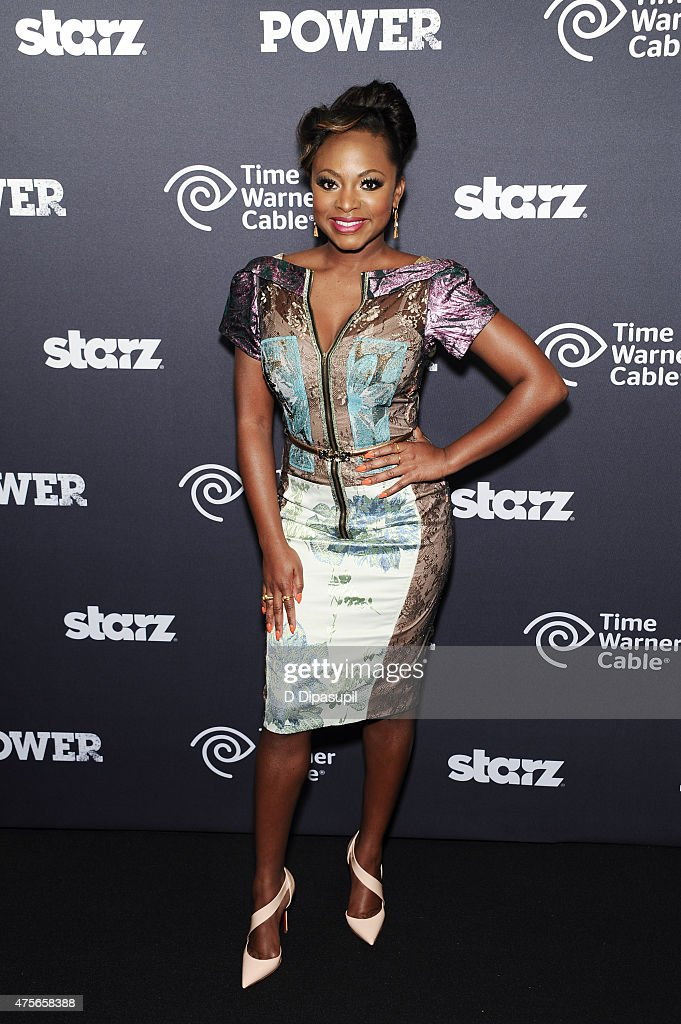 Naturi Naughton attends the 'Power' Season Two Series Premiere at Best Buy Theater on June 2 2015 in New York City
