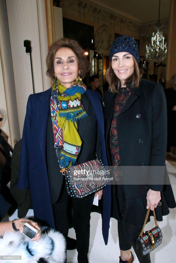 Giambattista Valli  : Front Row  - Paris Fashion Week Womenswear Fall/Winter 2017/2018