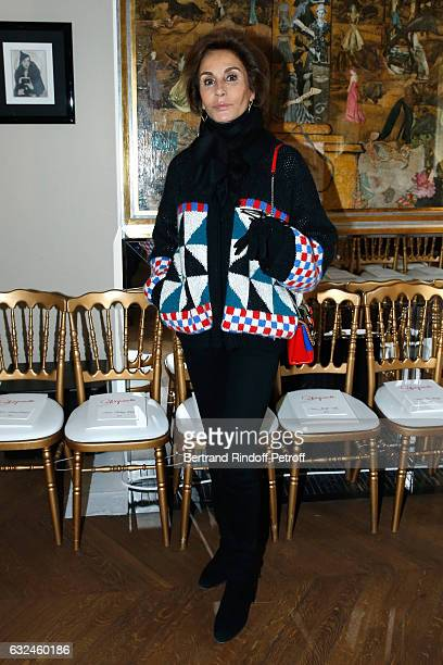 Naty Abascal attends the Schiaparelli Haute Couture Spring Summer 2017 show as part of Paris Fashion Week on January 23 2017 in Paris France