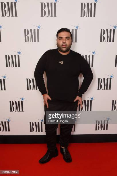 Naughty Boy attends the BMI London Awards at The Dorchester on October 9 2017 in London England