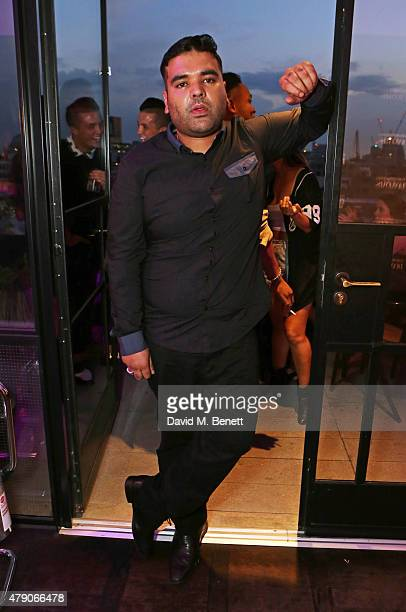 Naughty Boy attends the Emporio Armani Diamonds Fragrance launch at The Ace Hotel on June 30 2015 in London England