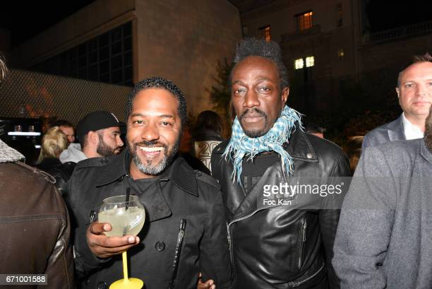 Naughty JÊand Marco Prince from FFF band attend 'Tonic Follies' Villa Schweppes Before Cannes Festival Party at Foundation Mona Bismarck on April 20...