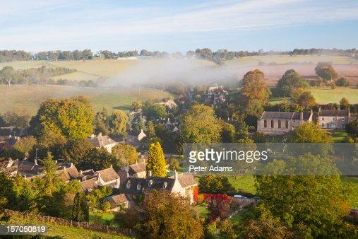 Naunton Village, Gloucestershire, Cotswolds, UK