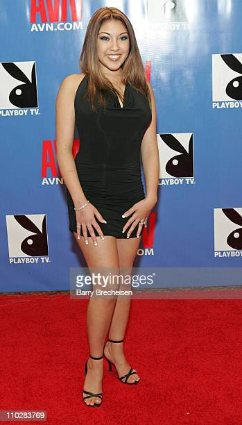 Nautica Thorn during 23rd Annual AVN Awards Show Red Carpet at Venetian Hotel in Las Vegas Nevada United States