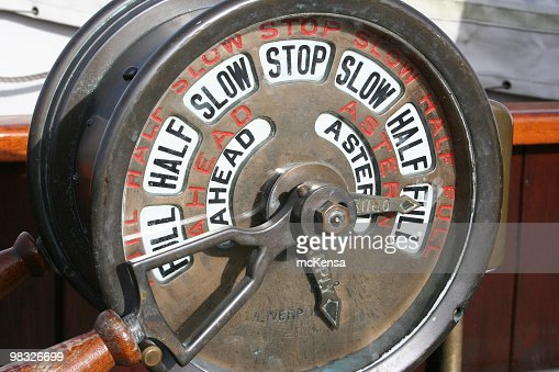 Nautical speed control on old sailing ship