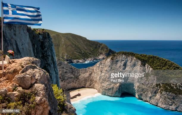 Navagio Bay (shipwreck), Zakynthos, Greece