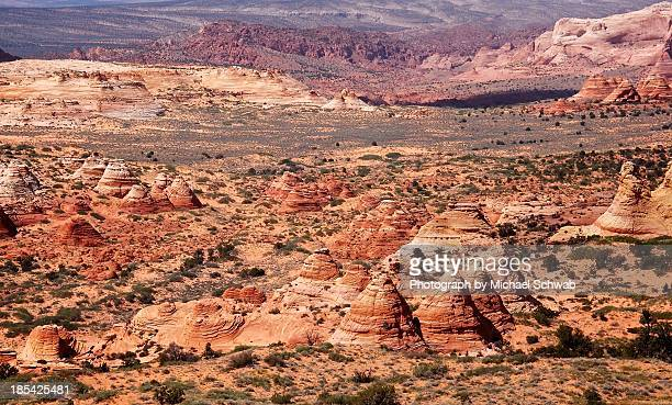 Navajo Sandstone teepees