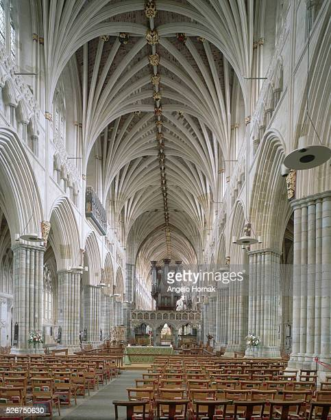 Nave of Exeter Cathdral