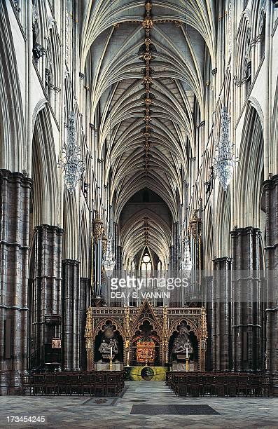 Nave Westminster Abbey London England United Kingdom