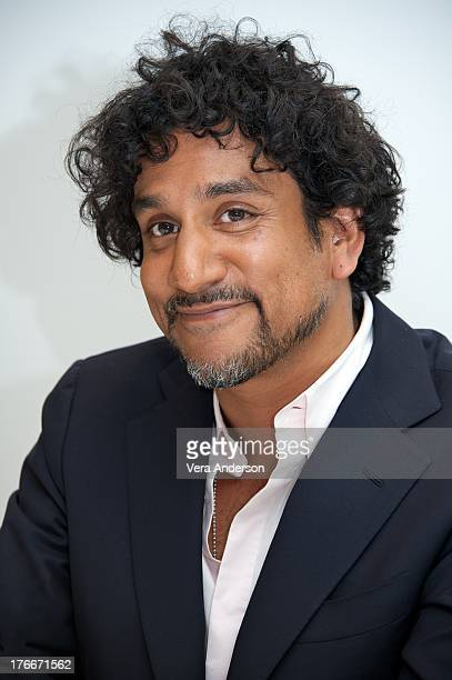 Naveen Andrews at the 'Diana' Press Conference at the Four Seasons Hotel Los on August 14 2013 in Beverly Hills California