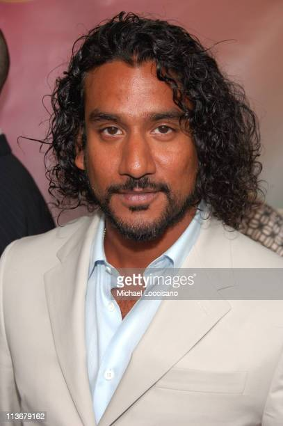 Naveen Andrews during ABC Upfront 2006/2007 Arrivals at Lincoln Center in New York City New York United States