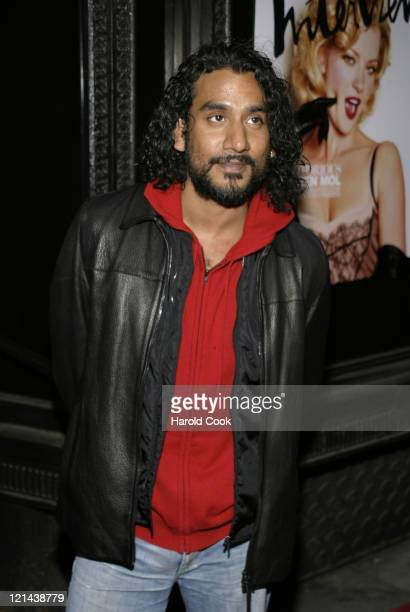 Naveen Andrews during 'The Notorious Bettie Page' New York City Premiere Arrivals at AMC Lowes 19th Street in New York City New York United States