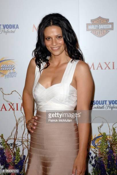 Navi Rawat attends THE MAXIM HOT 100 PARTY 2010 at Paramount Studios on May 19 2010 in Hollywood California