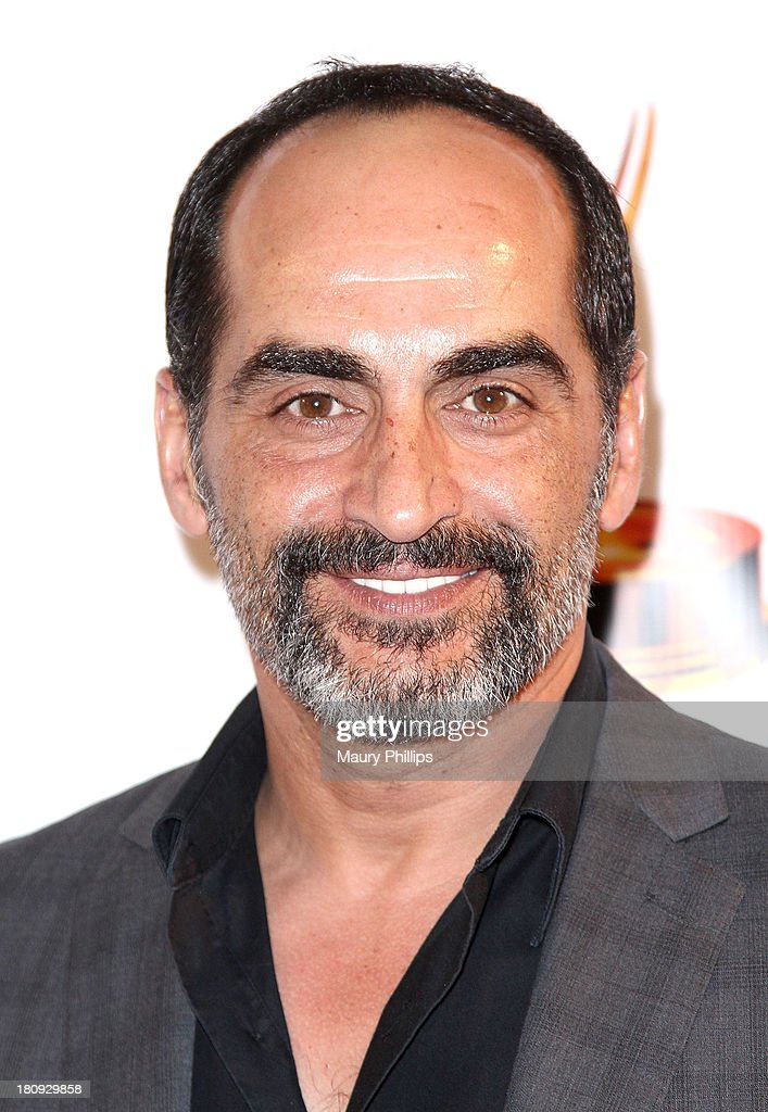 Navid Negahban arrives at Dynamic & Diverse - A 65th Emmy Awards Nominee celebration at Academy of Television Arts & Sciences on September 17, 2013 in North Hollywood, California.