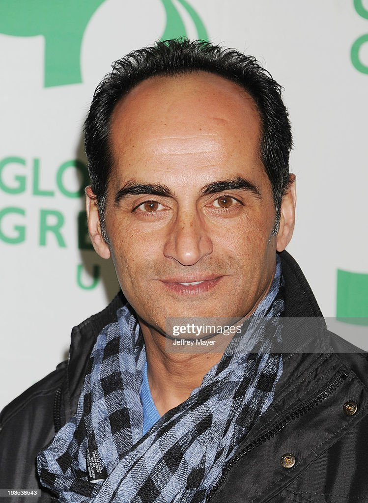 Navid Negahban arrives at Global Green USA's 10th Annual Pre-Oscar party at Avalon on February 20, 2013 in Hollywood, California.