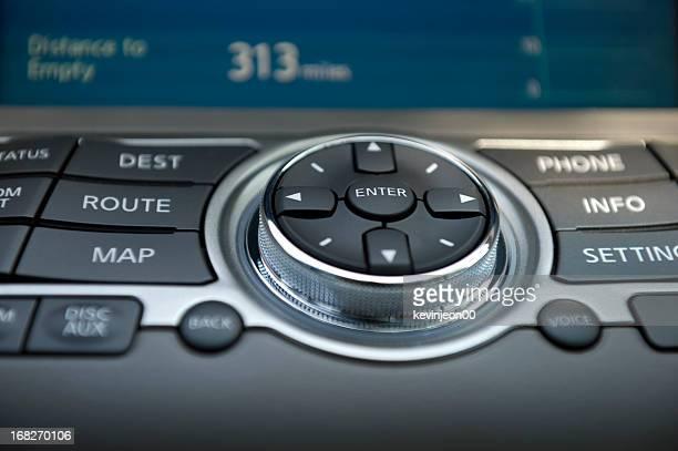 Navigation console