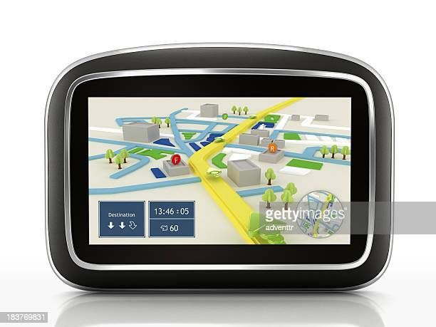 GPS navigation device