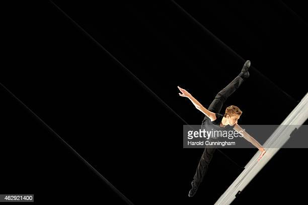 Navrin Turnbull of Australia from Private Coaching by Maldon John Czislowski Brisbane Australia performs during the contemporary selections of the...
