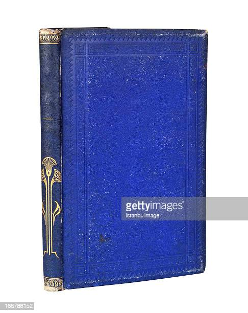 navy blue old book