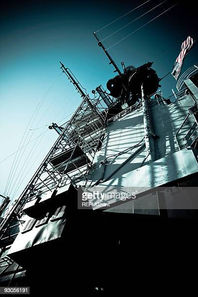 Navy Military Ship Tower