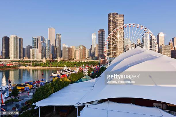 Navy Pier and Downtown Chicago