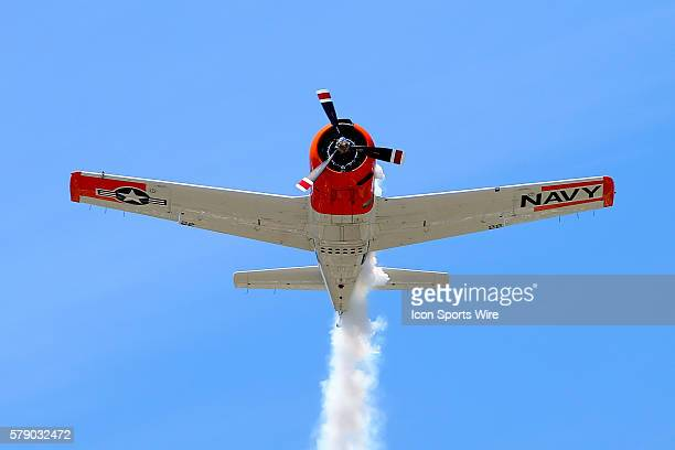 Navy Plane Flyover Prior to the Party in the Poconos 400 race at Pocono Internatioal Raceway in Long Pond Pa Sprint Cup Series driver Dale Earnhardt...