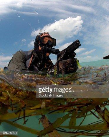 Navy Seal Combat Diver