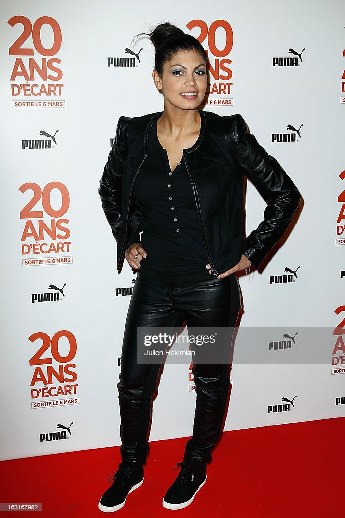 Nawell Madani attends '20 Ans D'Ecart' Premiere at Gaumont Capucines on March 5, 2013 in Paris, France.