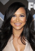 Naya Rivera arrives at the 2013 TCA Winter Press Tour FOX AllStar Party at The Langham Huntington Hotel and Spa on January 8 2013 in Pasadena...