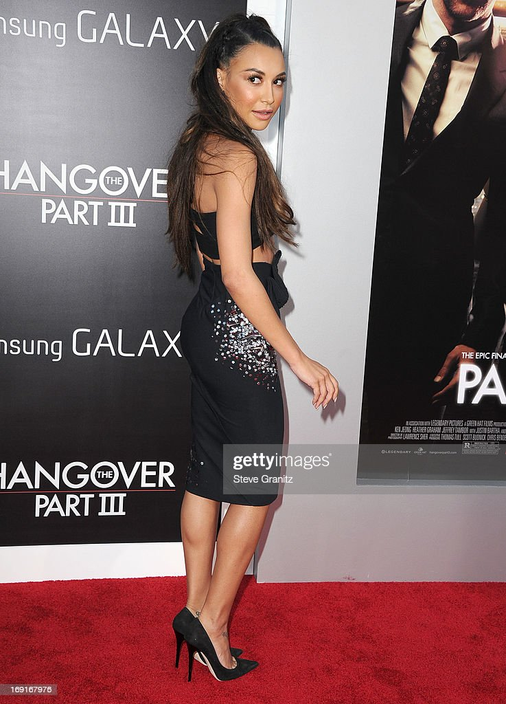 Naya Rivera arrives at the 'The Hangover III' - Los Angeles Premiere at Mann's Village Theatre on May 20, 2013 in Westwood, California.