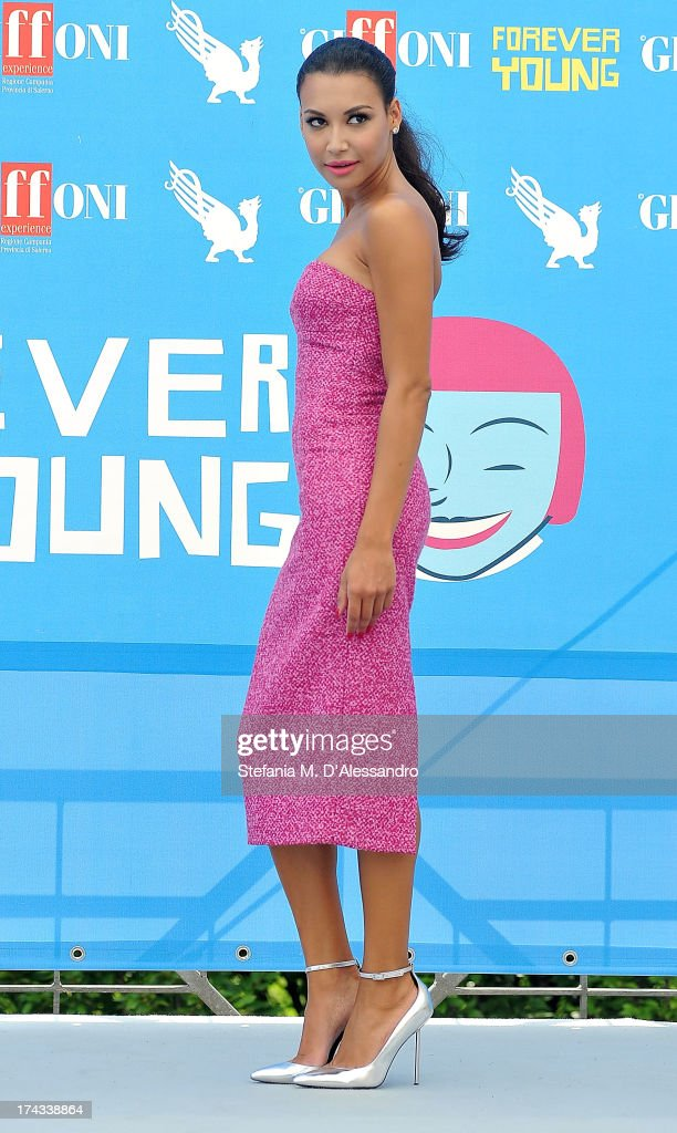 Naya Rivera attends 2013 Giffoni Film Festival photocall on July 24, 2013 in Giffoni Valle Piana, Italy.