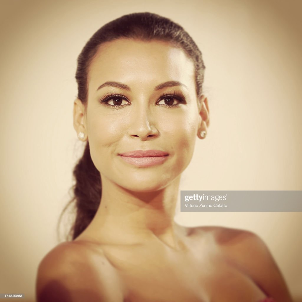 Naya Rivera attends 2013 Giffoni Film Festival press conference on July 24, 2013 in Giffoni Valle Piana, Italy.