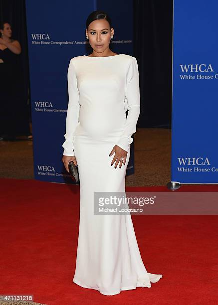 Naya Rivera attends the 101st Annual White House Correspondents' Association Dinner at the Washington Hilton on April 25 2015 in Washington DC