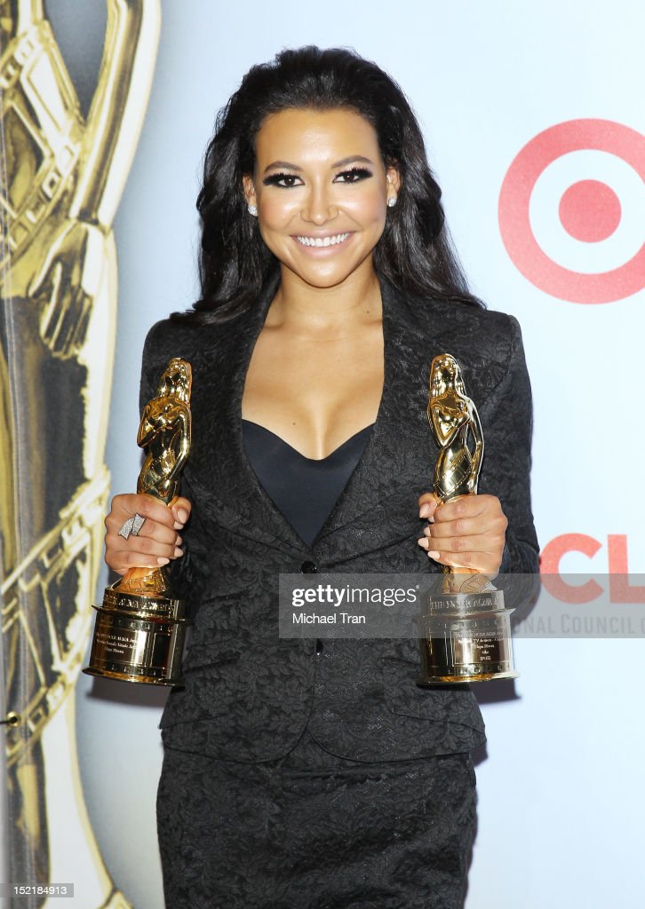 Naya Rivera attends the press room at the NCLR 2012 ALMA Awards held at Pasadena Civic Auditorium on September 16, 2012 in Pasadena, California.