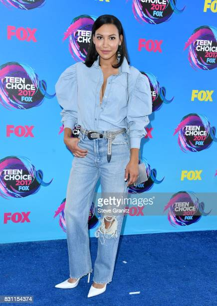 Naya Rivera attends the Teen Choice Awards 2017 at Galen Center on August 13 2017 in Los Angeles California