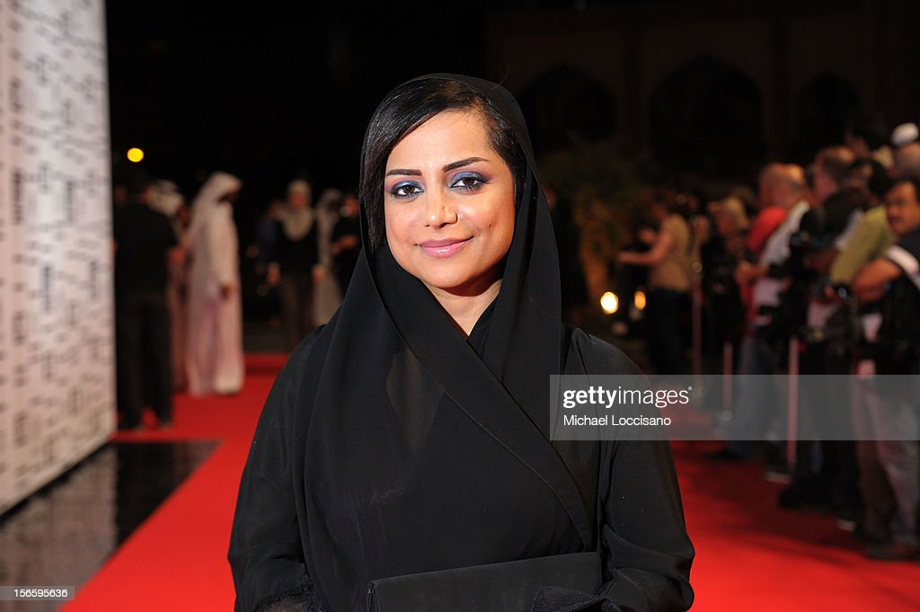 Nayla Al Khaja attend the opening night ceremony and gala screening of 'The Reluctant Fundamentalist' during the 2012 Doha Tribeca Film Festival at Al Mirqab Hotel on November 17, 2012 in Doha, Qatar.